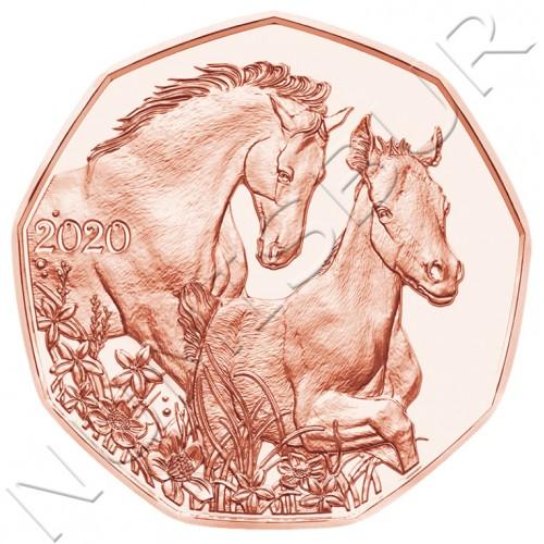 5€ AUSTRIA 2020 - Horses