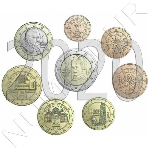 Tira AUSTRIA 2020 - 8 coins