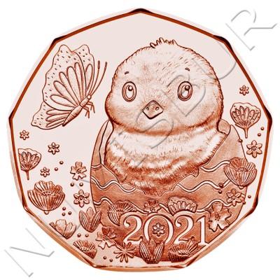 5€ AUSTRIA 2021 - A little miracle