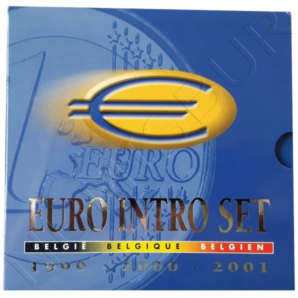 Euroset BELGICA 1999 2000 2001 - BU