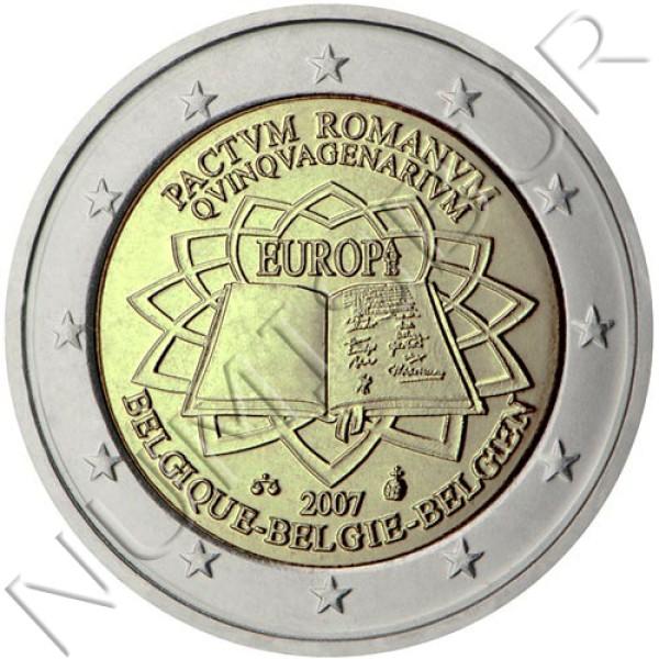 2€ BELGIUM 2007 - Trate of Rome