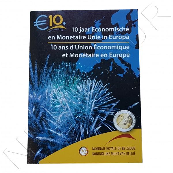 2€ BELGICA 2009 - EMU FDC