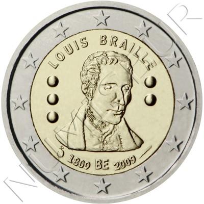 2€ BELGIUM 2009 - Louis Braille