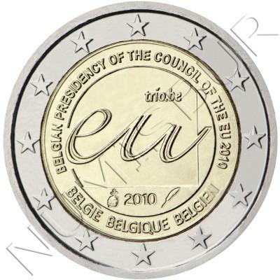 2€ BELGICA 2010 - Presidencia belga del Consejo UE