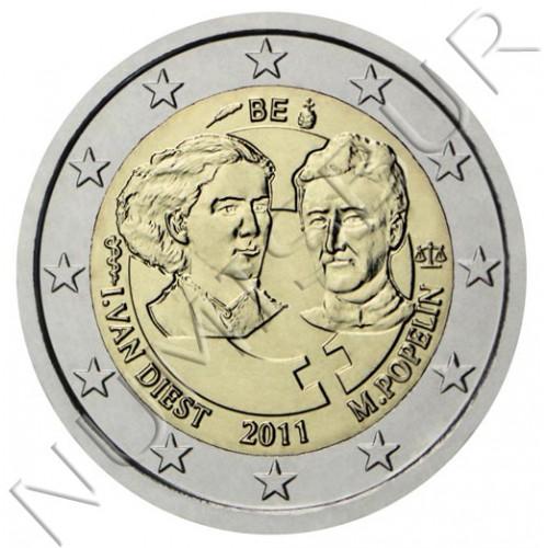 2€ BELGICA 2011 - Dia de la mujer trabajadora