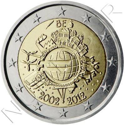 2€ BELGICA 2012 - 10º aniv. EURO
