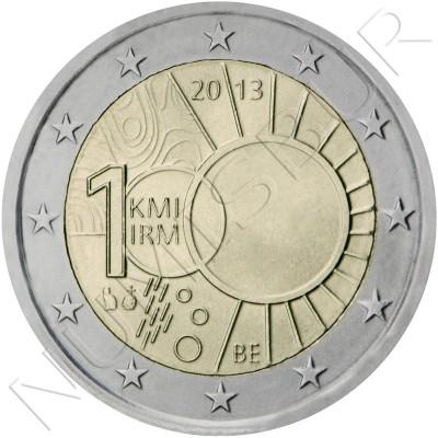 2€ BELGICA 2013 - 100 años instituto meteorológico