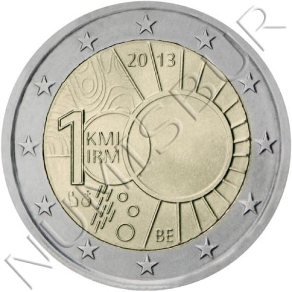 2€ BELGIUM 2013 - 100 years old meteorological institute