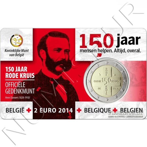 2€ BELGICA 2014 - Cruz Roja