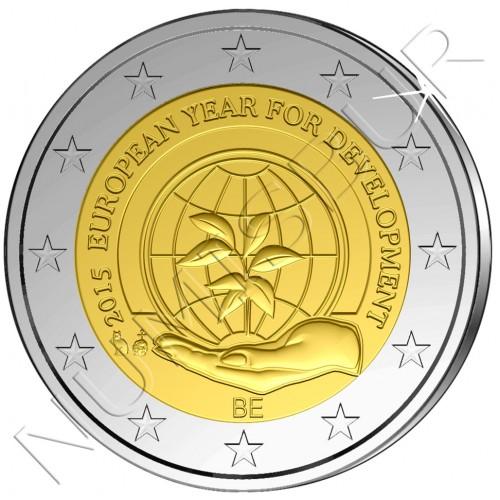 2€ BELGICA 2015 - Año del desarrollo
