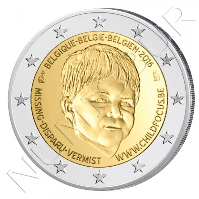2€ BELGICA 2016 - Child Focus (PROOF)