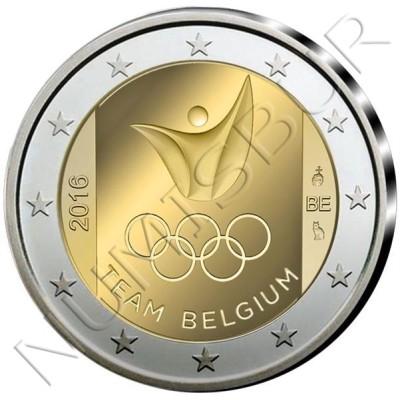 2€ BELGICA 2016 - Juegos Olimpicos RIO