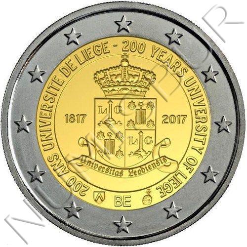 2€ BELGICA 2017 - Universidad de Lieja (Version Holandesa)