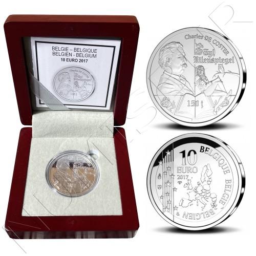 10€ BELGIUM 2017 - Charles de Coster