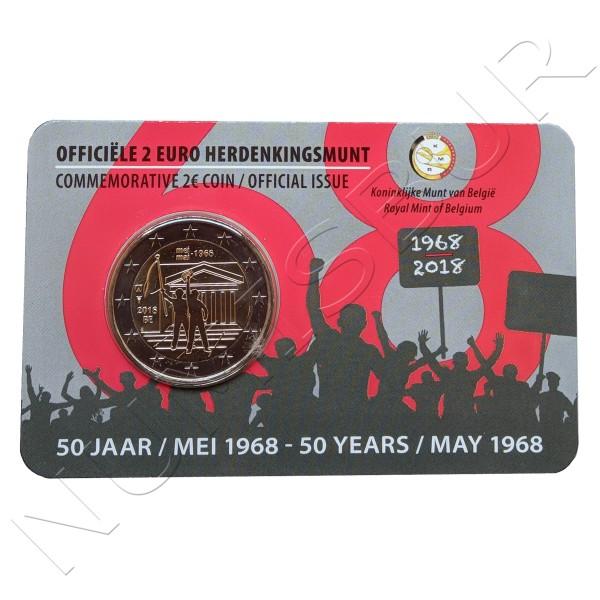2€ BELGIUM 2018 - Student revolt