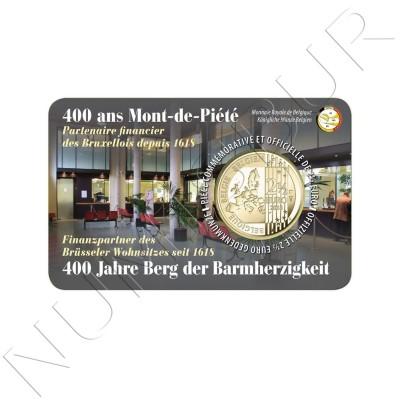 2.5€ BELGIUM 2018 - 400 years Mont de Piété (VER. NETHERLANDS)