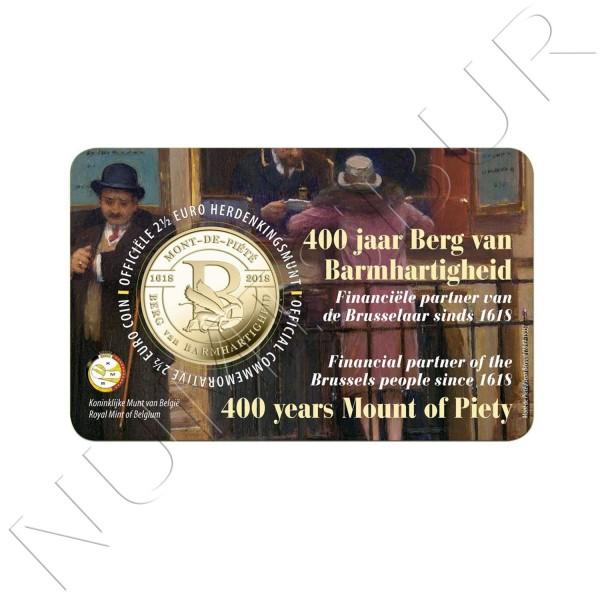2,5€ BELGICA 2018 - 400 años el Mont de Piété (VER. HOLANDESA)