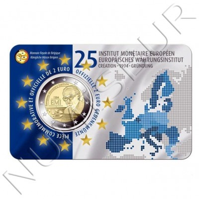 2€ BELGIUM 2019 - 25th year of the European Monetary Institute (Frenche version)