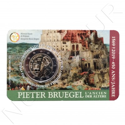 2€ BELGIUM 2019 - 450 years Death of Pieter Brueghel (French Version)