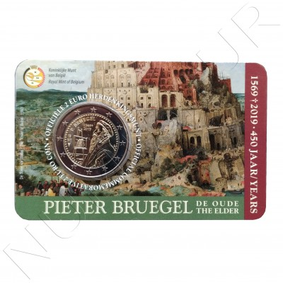 2€ BELGIUM 2019 - 450 years Death of Pieter Brueghel (French Netherlands)