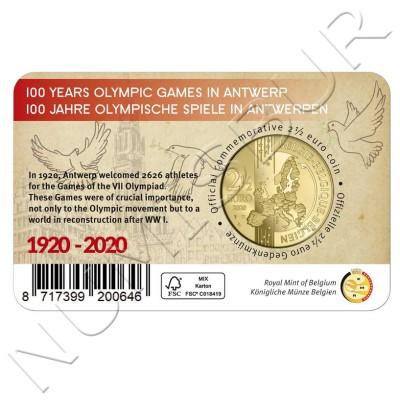 2.5€ BELGIUM 2020 - 100 anniv. of the Olympic Games