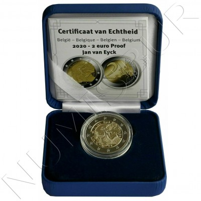 2€ BELGIUM 2020 - Jan Van Eyck (PROOF)