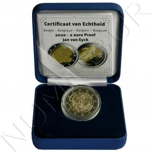 2€ BELGIUM 2020 - Jan Van Eyck (PROOF)