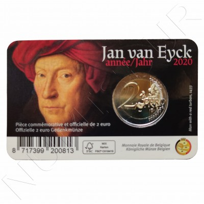 2€ BELGIUM 2020 - Jan Van Eyck (French version)