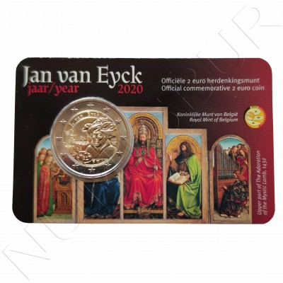 2€ BELGIUM 2020 - Jan Van Eyck (Netherlands version)