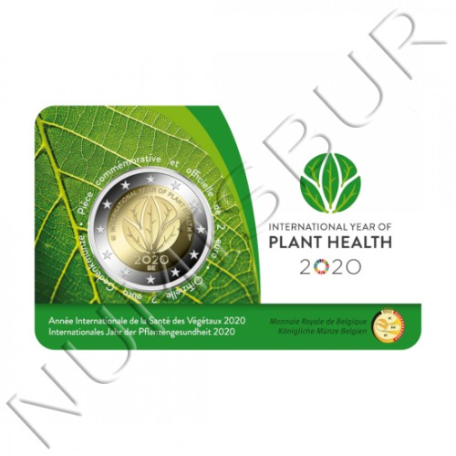 2€ BELGIUM 2020 - International year of plant health (French version)