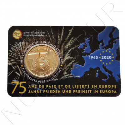 2.5€ BELGIUM 2020 - 75 anniv. of peace and freedom in Europe