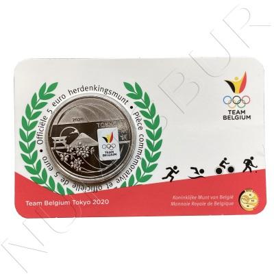 5€ BELGIUM 2020 - Team Belgium Tokyo 2020 (Colored)