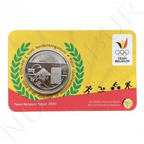 5€ BELGIUM 2020 - Team Belgium Tokyo 2020