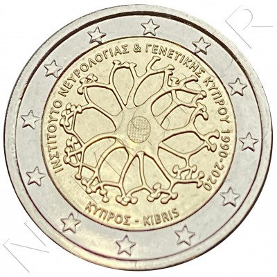 2€ CYPRUS 2020 - 30 years of the Cyprus Institute of Neurology and Genetics