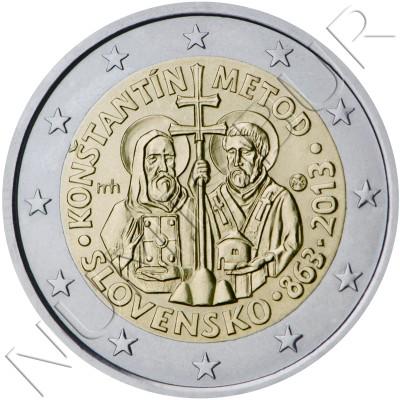 2€ SLOVAKIA 2013 - Constantine and Methodius