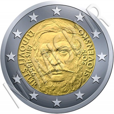 2€ SLOVAKIA 2015 -  Ľudovít Štúr