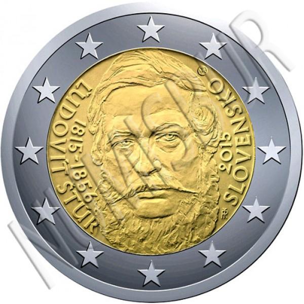 2€ ESLOVAQUIA 2015 - Ľudovít Štúr