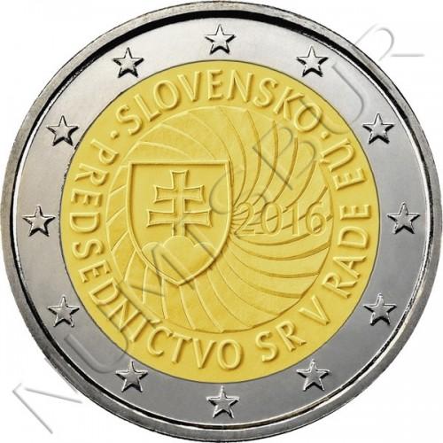 2€ ESLOVAQUIA 2016 - PRESIDENCIA UE