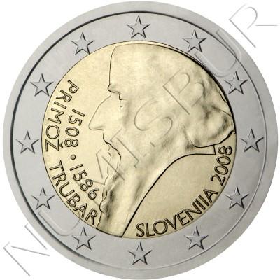2€ ESLOVENIA 2008 - Primoz Trubar