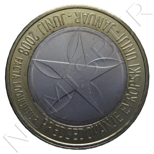 3€ ESLOVENIA 2008 - Presidencia EU