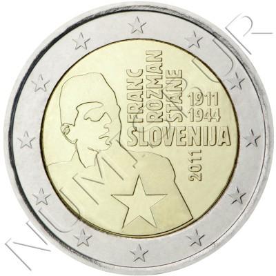 2€ ESLOVENIA 2011 - Centenario nacimiento Franc Rozman
