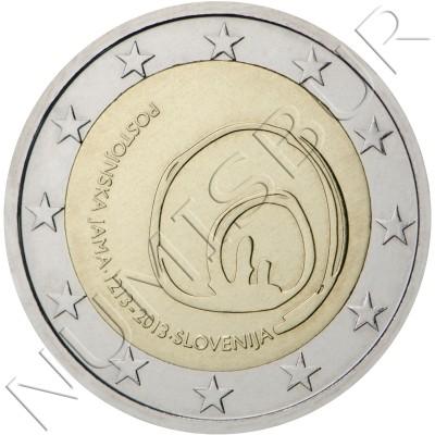 2€ SLOVENIA  2013 - Cave of Postojna