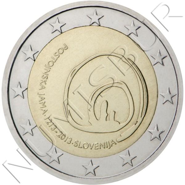 2€ ESLOVENIA 2013 - Cueva de Postojna