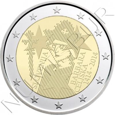 2€ SLOVENIA  2014 - Barbara Celje