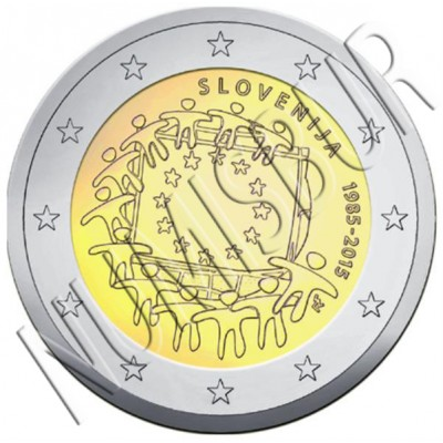 2€ SLOVENIA 2015 - XXX aniversary of European FLAG