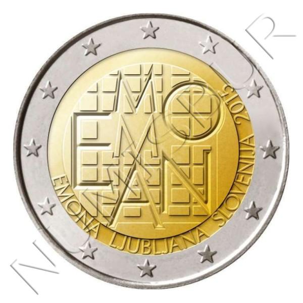 2€ ESLOVENIA 2015 - EMONA