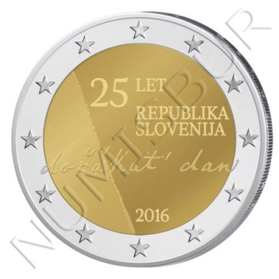2€ ESLOVENIA 2016 - 25 años de la Independencia