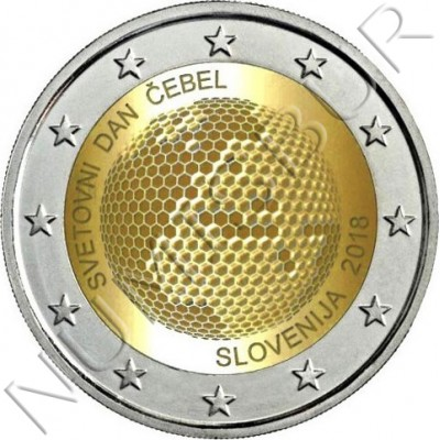 2€ SLOVENIA 2018 - World day of the bees
