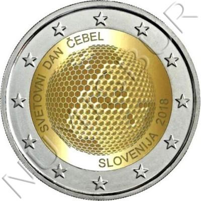 2€ ESLOVENIA 2018 - Dia mundial de las abejas