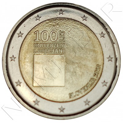 2€ SLOVENIA 2019 - 100 years of the University of Ljubljana